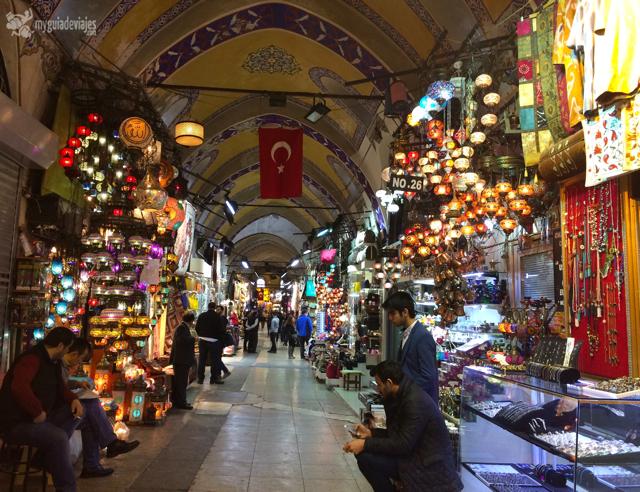 Interior del Gran Bazar