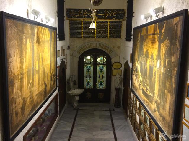 Entrada al hamam Cagaloglu