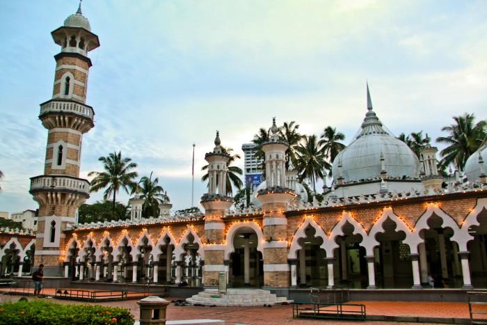 Masjid Jamek. Imagen de wikipedia