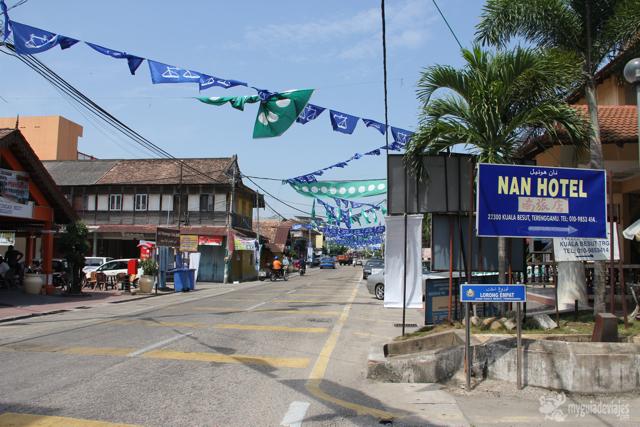 kuala Besut, localidad donde parten las lanchas