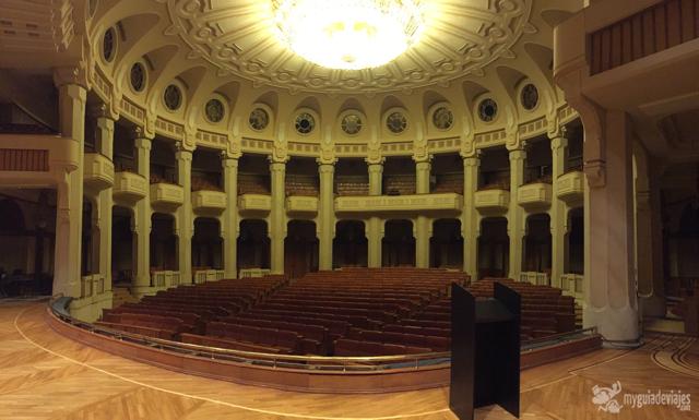 Interior Parlamento Rumano