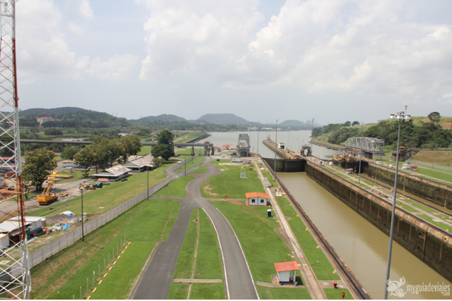 Esclusas de Miraflores. Canal de Panamá.