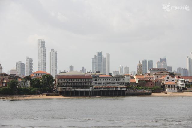 Contrastes de ciudad de Panamá