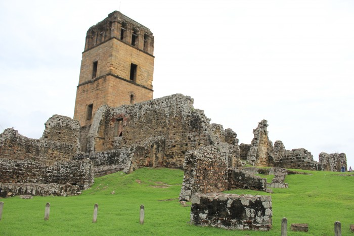 Ruinas de Panama viejo. Imagen: wikipedia.