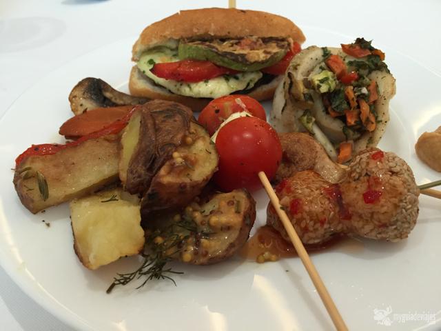 Uno de mis platos del catering de stejarii country club
