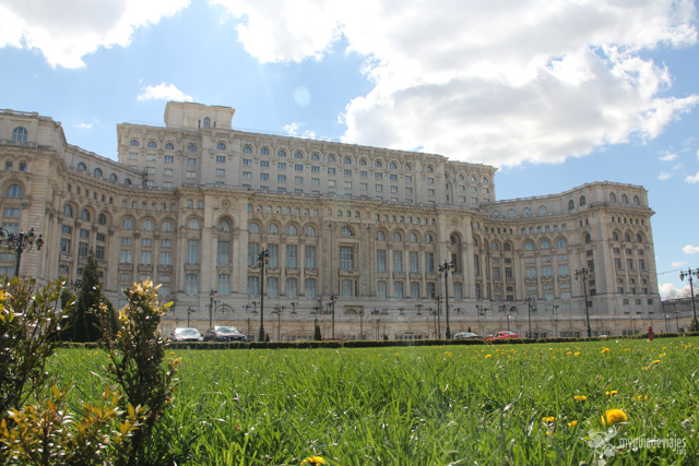 Edificio del Parlamento Rumano