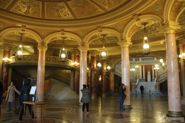 Interior del Ateneo