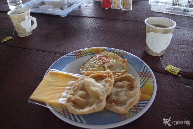 desayuno escaso