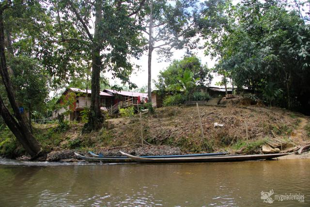 canoa en sarawak