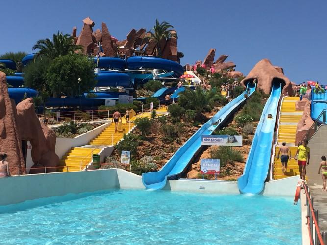 slide and splash algarve