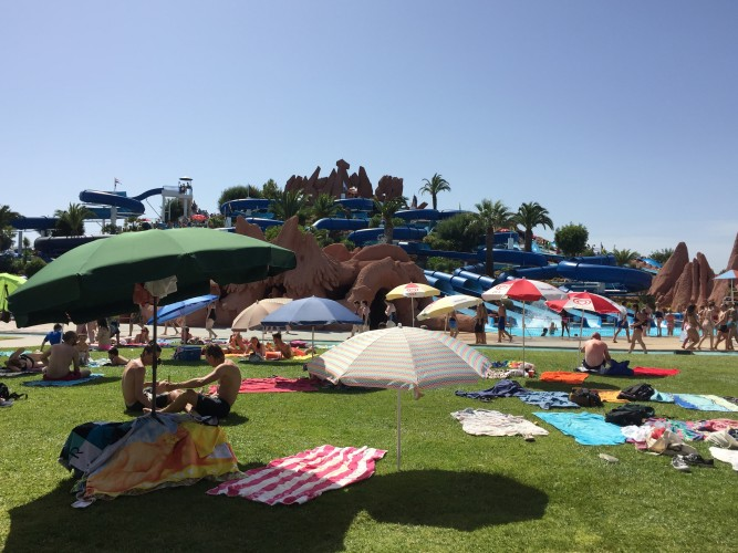 parque acuatico lagoa