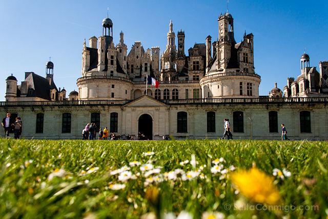 Castillo de Chambord. Imagen de Salta Conmigo.