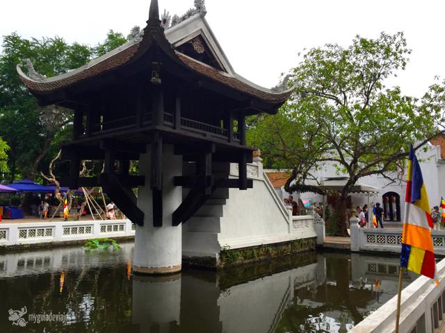 Pagoda de pilar única, Hanoi.