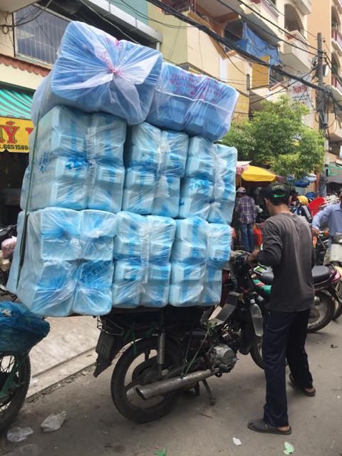Escena típica vietnamita