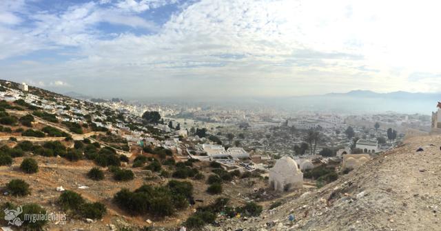 Vistas desde lo alto de la medina