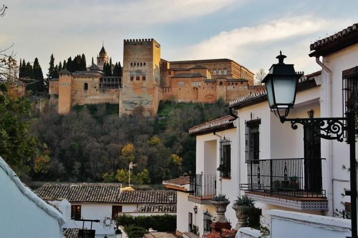 alhambra desde el Albaicín. Foto: Jose Luis Sarralde.