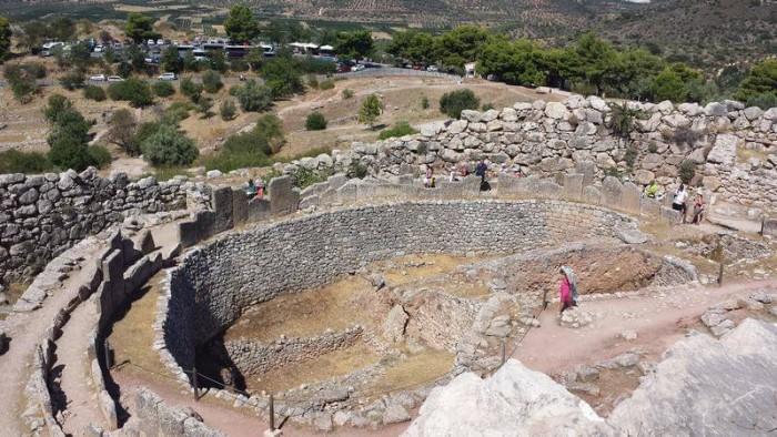 Peloponeso griego. Foto de Hector Navarro.