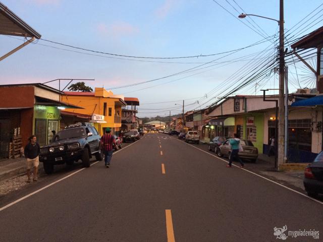 Calle principal de Boquete.