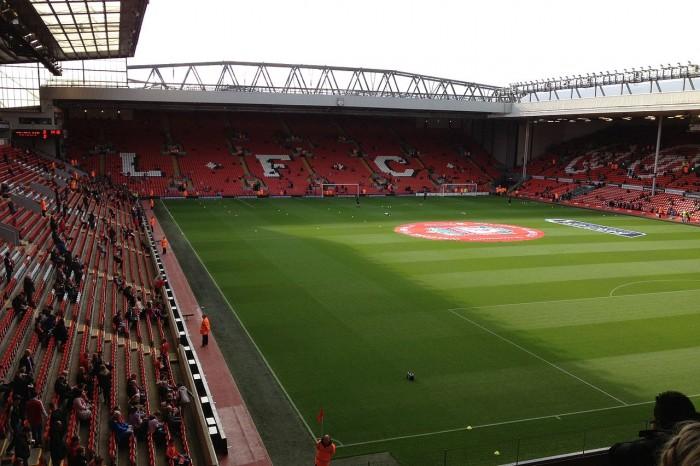 Estadio de Anfield. Imagen de wikipedia.