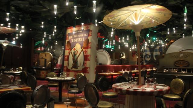 10 en decoración para Chez Remy