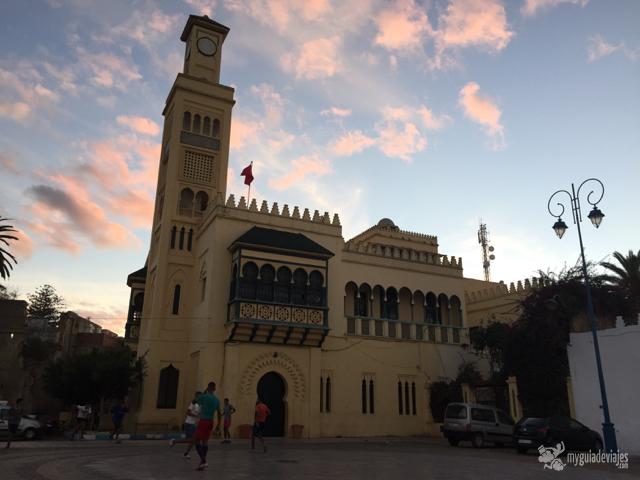 Mezquita en Larache
