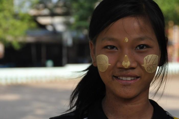 Mujer birmana. Fuente: birmanialibre.com