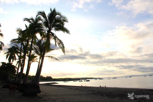 Bonito atardecer en Puerto Jiménez