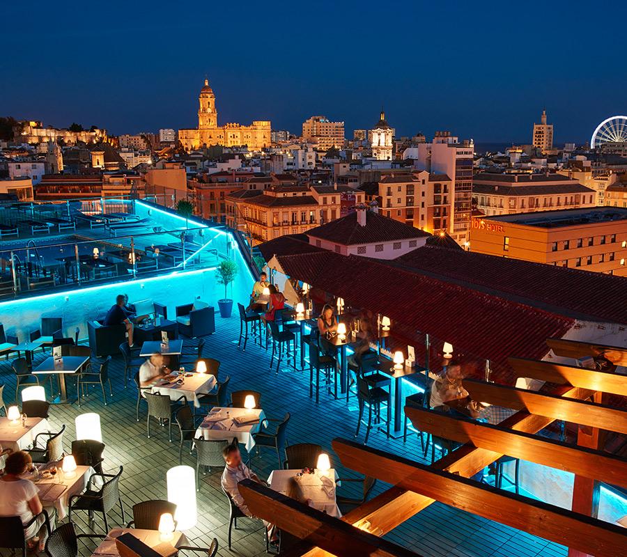 10 Terrazas Con Vistas Para Enamorarse De Málaga My Guia De Viajes