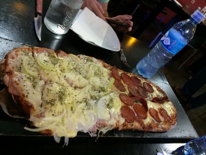 Pizzas gigantes y ricas