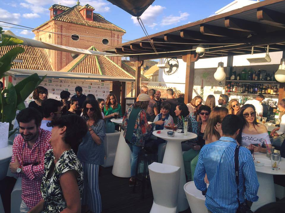 Terrazas Con Vistas De Málaga Blog De Un Viaje Casual