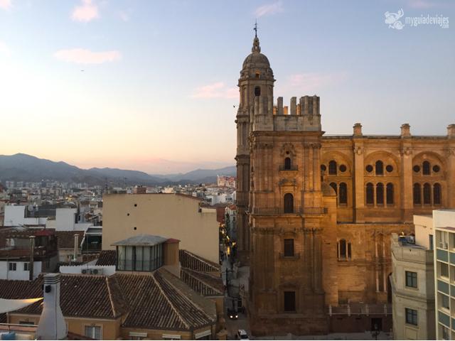 Catedral desde el Hotel Molina Lario