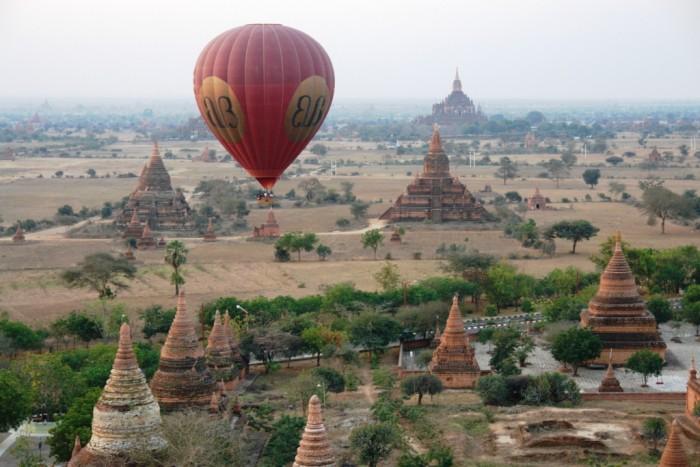 Templos de Bagan. Fuente: wikipedia.org.