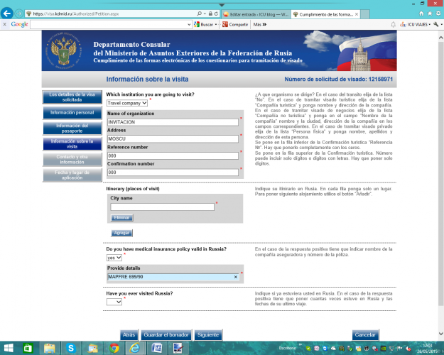 Formulario-Rusia