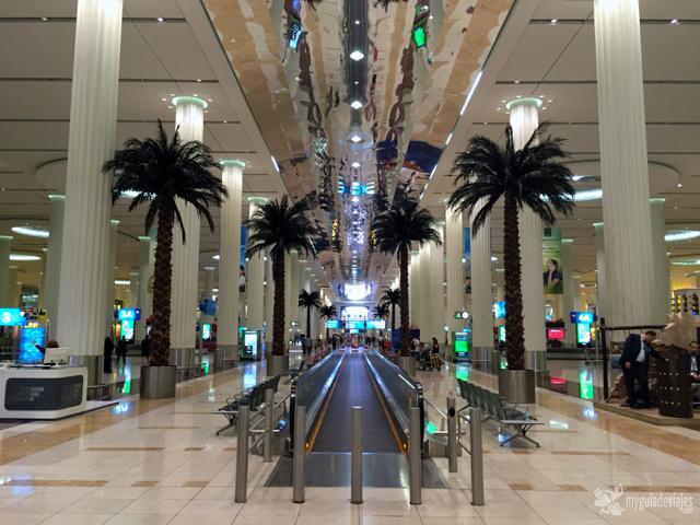Lujo en el aeropuerto de Dubái.