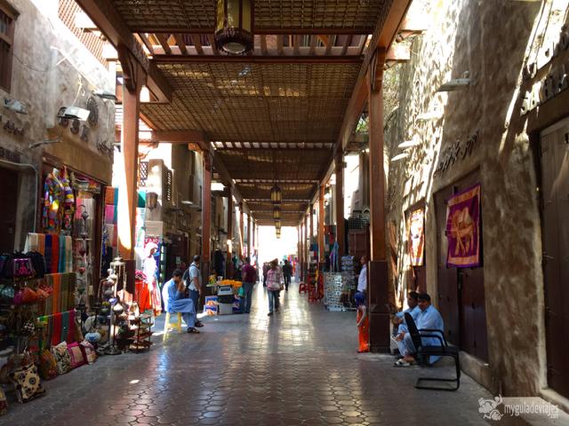 Zoco de Dubái antiguo