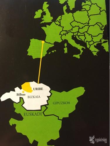 mapa comarca uribe