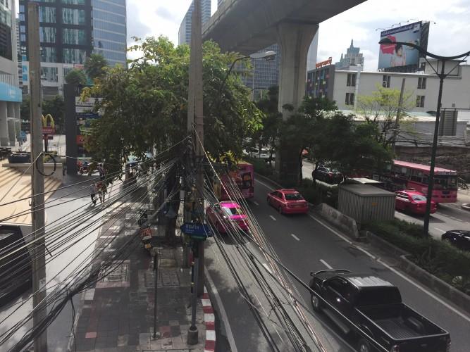 trafico bangkok