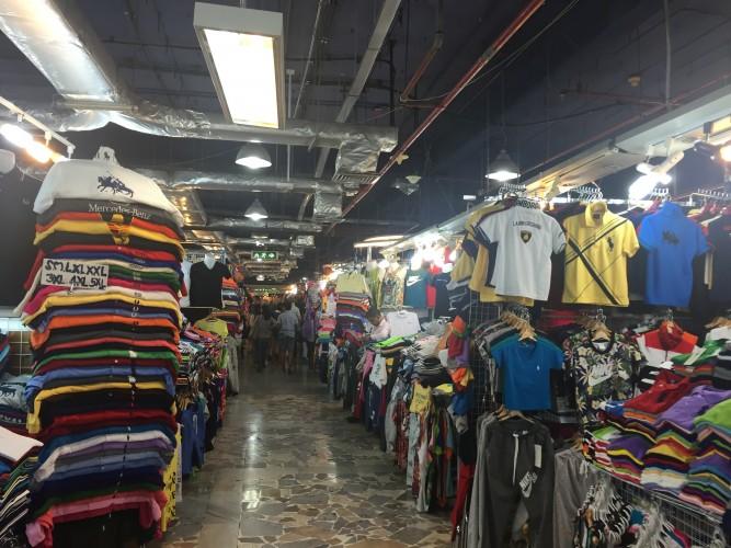 Compras y más compras en Bangkok