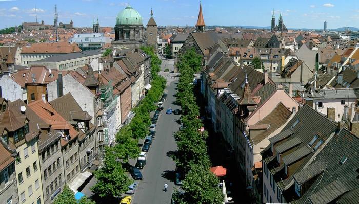 vista de Nuremberg. Imagen: Wikipedia.org