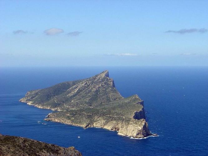 Isla Dragonera. Imagen de wikipedia.org