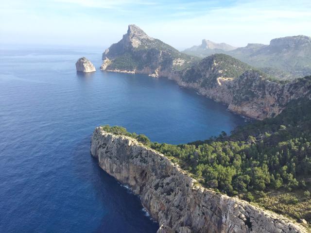 Formentor, al norte de la isla.