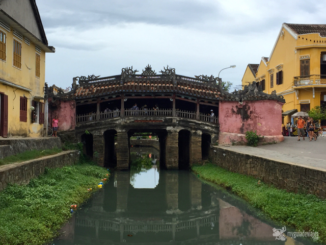 El puente japonés de Hoi An.