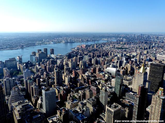 Vista de Nueva York. Imagen propiedad de En el Mundo perdido.