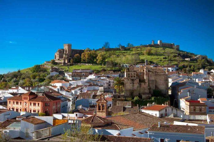 Vista de Aracena. Imagen de Andalucia.org