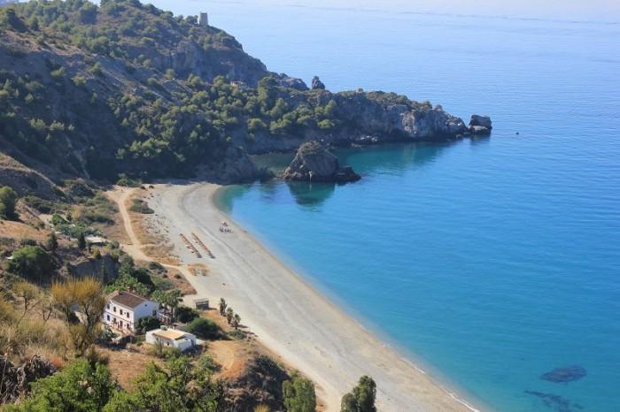 Playa el Cañuelo. Imagen de Nerjacostadelsol.com