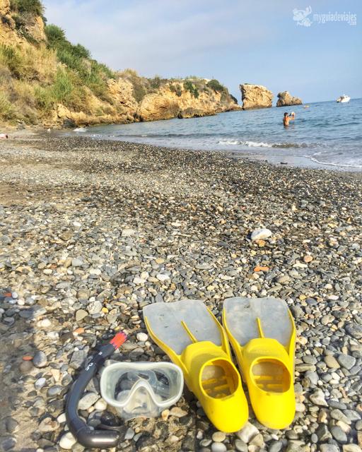 snorkel en Maro