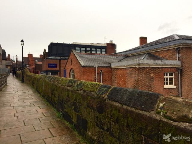 Paseando por las murallas de Chester