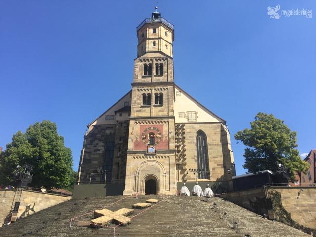 Iglesia de St. Michael, Schwäbisch Hall