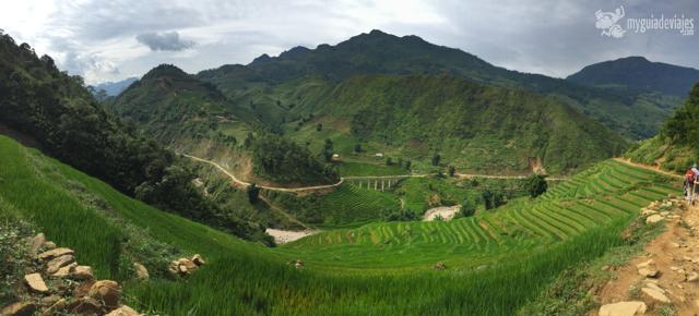 impresionantes las terrazas de arroz