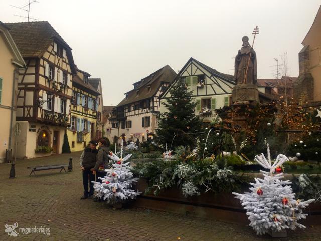 Plaza en Eguisheim
